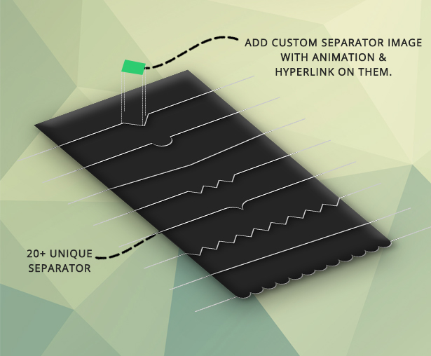 Advance Row Separator Add On for Visual Composer 3