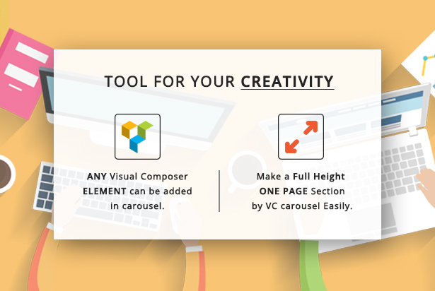 Row Elements Carousel Addon for Visual Composer 3